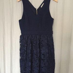 Altar'd State Navy Blue Dress